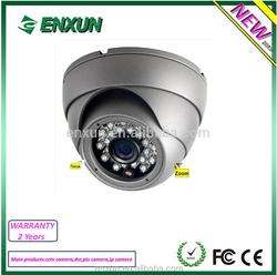 Focus&Zoom security camera Low-Illumination with Ir-cut TVI Dome Camera