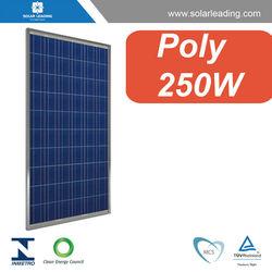 Photovoltaic pv solar panel / solar module 250W for 10KW / 15KW / 20KW / 30KW / 50KW / 100KW/ 500KW solar grid system