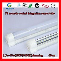 2014 new products 10w 1000lm Aviation aluminum + import PC cover led strip light motion sensor
