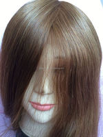 Elegant-wig 100 human hair wigs for african americans, natural toupee men paypal accept