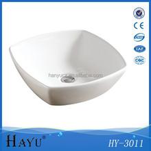 HY 3011 white modern ceramic bathroom product