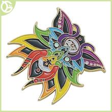 fashionable design elephant shape fancy metal lapel pin