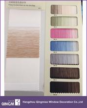 Wholesale Customized Manual Hemp Gradients Zebra Blind Fabric