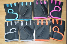 Gym Strap Training Leather Grip / Professional Gym Weightlifting Gloves