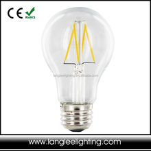 Filament LED Lampe E27 4W Warm white 2700K 400LM Glass