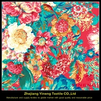 custom different types of polyester home textile fabric printing