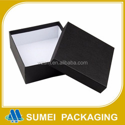 Custom fashion cardboard paper belt gift boxes with lids