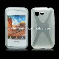 New arrival X line tpu case for Samsung star 3 duos S5222,many color,