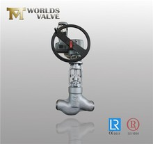 High quality and reliable pneumatic operated casting steel globe valve