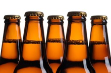 Wholesale High Quality Clear Glass Beer Bottle