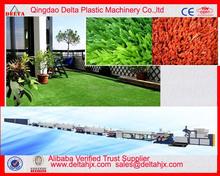 Plastic man made turfgrass yarn monofilament production line