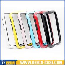 Ultra thin rubber tpu pc bumper case for lg g2