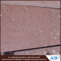 Polished pollished honed putian red granite and popular putian red