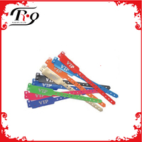 High quality id bracelets vinyl wristbands for festival events