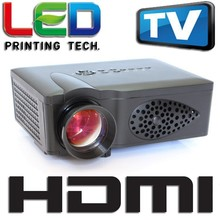 new 1500lm led video projector, Home Theater 3D Cinema 1080P HD HDMI USB Digital Multimedia LCD LED Mini proyector