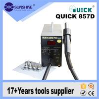 Quick 857D professional smd repairing electronic temperature control hot air gun