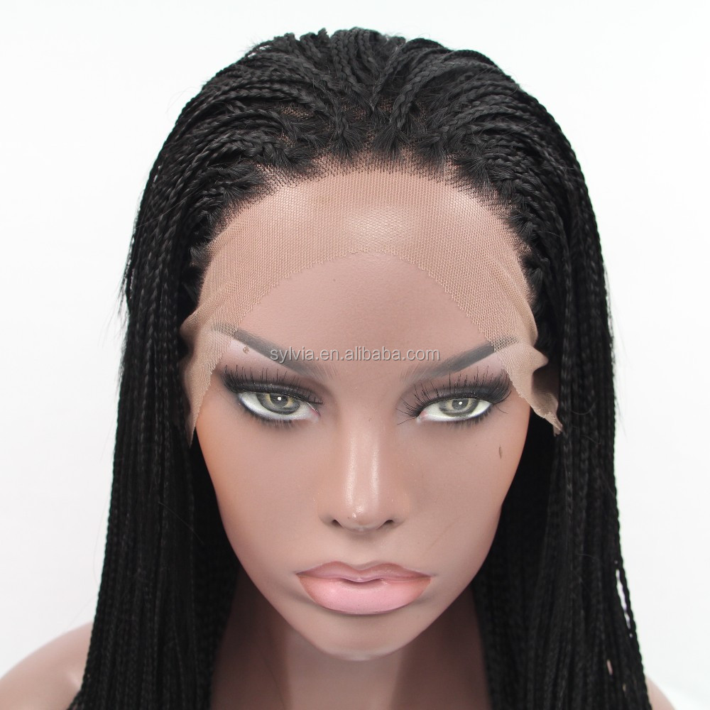 Wigs African American Braided Wig For Black Women In