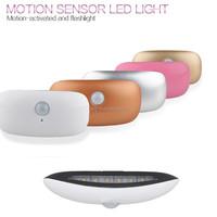 LED Sensor Motion Activated luxe toilet Light Bathroom Flush Toilet Lamp Battery-Operated Night Light