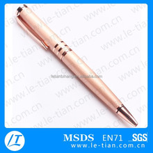 LT-W742 Brass metal pen,Twist ball pen,High quality copper pen