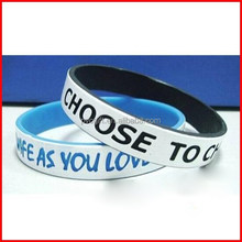 Rubber lovely wristbands | Personalized wrist band | Customized silicone bracelet wristbands