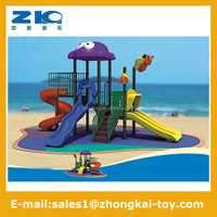 used outdoor gymnastic sports equipment,plastic playground slide LLDPE