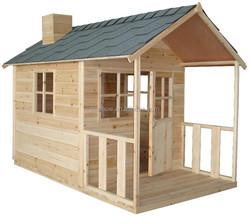 Cubby Plan Children Wood Cubby House
