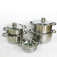 stainless steel economic kitchenware berndes cookware