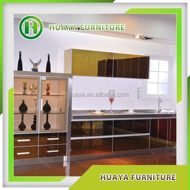 Best selling products aluminium new model kitchen cabinet for New model kitchen