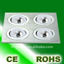 Best value square 4W High Power LED Ceiling Light