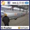 Aluminum Alloy semi trailer fuel Tank semitrailer