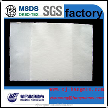 Factory price and high quality 100%polyester spunlace non-woven fabric for sofa/shoes/car seat backing cover