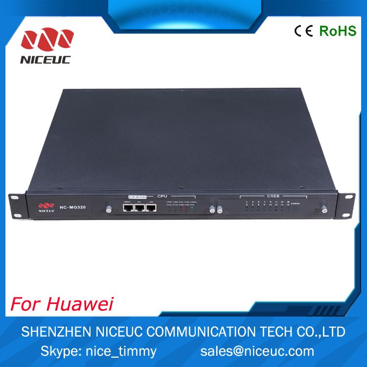 32 разъём(ов) FXS / FXO шлюз VoIP NC-MG320 , который преобразование тфоп к SIP