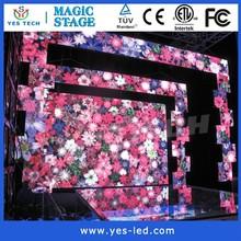YESTECH Full Color RGB Led Dance Floor Rental Panels For Stage Floor