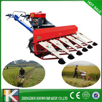 energy saving mini tractor paddy reaper
