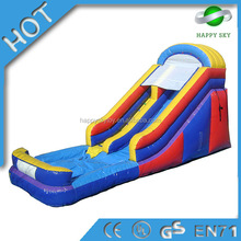 2015 Best selling inflatable slide,inflatable hippo slide,inflatable slip and slide