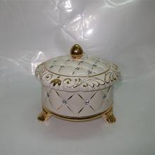 EF576 Chinese Gold painted Fashion luxury modern ceramic wedding decoration