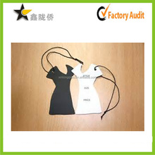 2015 alibaba newest Antique Style string Attached Lady Clothes Swing Tag