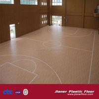 basketball field vinyl floor covering