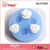 F1939 PRZY flower gum paste fondant slilicone mold