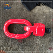 Factory Price Red Painted Forged Steel Wire Rope Swivel Load Ring