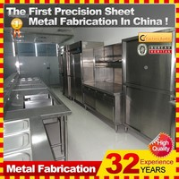 2014 Direct factory made mini kitchenette used stainless steel kitchen cabinet