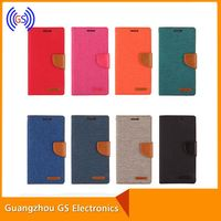 Original Mercury Goospery Canvas Diary Jeans For Samsung Galaxy Tablet Tab E T561 Leather Case