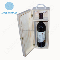 Paulownia Wood 1 bottle Wine Gift Box