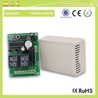 DC9V-24V remote controller 2 channels receiver for garage doors opener