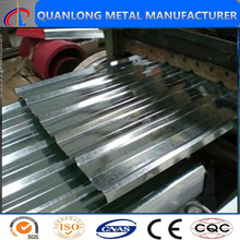 galvanized corrugated steel sheets for roof and wall