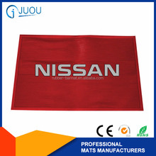 customized brand pvc car logo mat