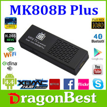 MK808B Plus android media stick player google tv box, android 4.2 smart stick tv box, android tv usb stick
