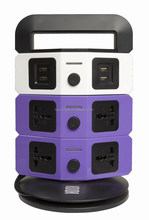2015 new multifunctional electric outlet extension with EG/EU/CN plug