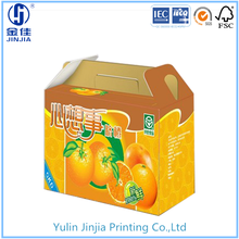 hot sale delicate and portable paper fruit box