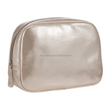 Perfect Large Pouch Metallic PU Cosmetics Case